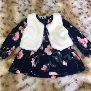 Dress with Vest NWOT